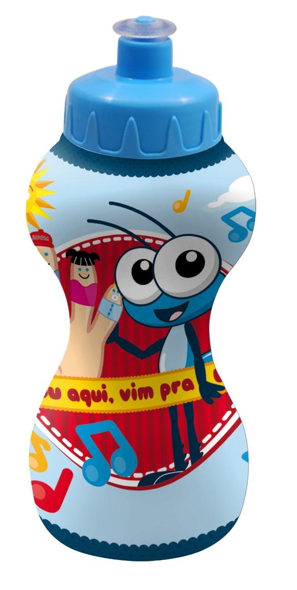 Squeeze infantil do Bob Zoom 350 ml - Garrafinha infantil